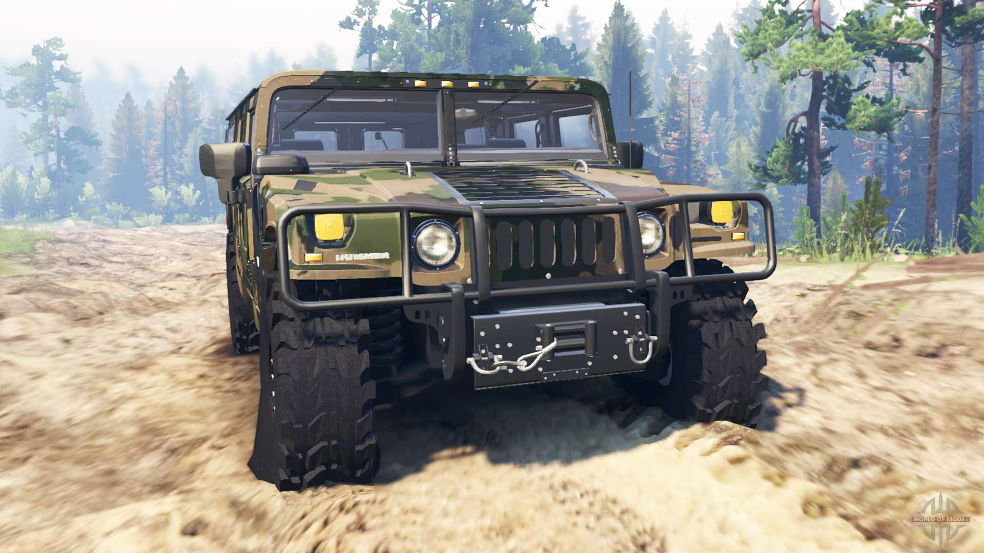 Drive Away Cars >> Hummer H1 for Spin Tires
