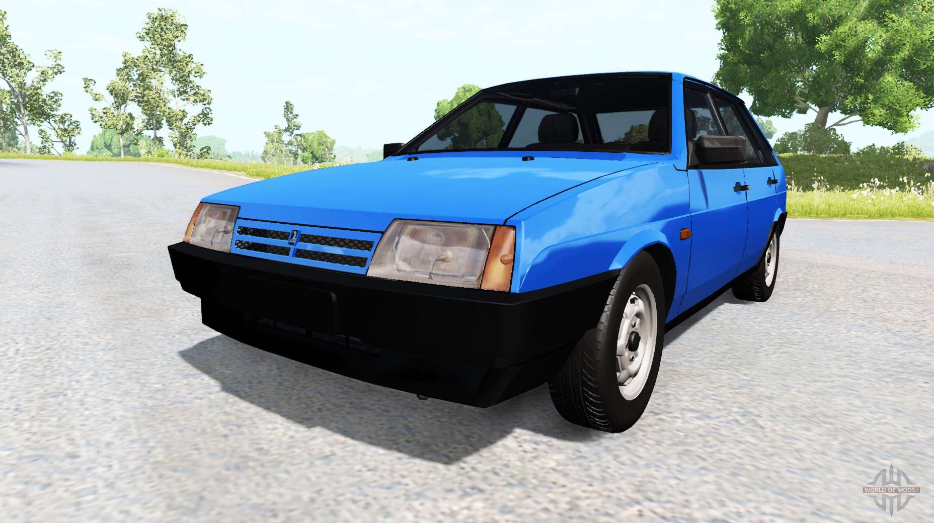Drive: VAZ-2109 Sputnik For BeamNG Drive