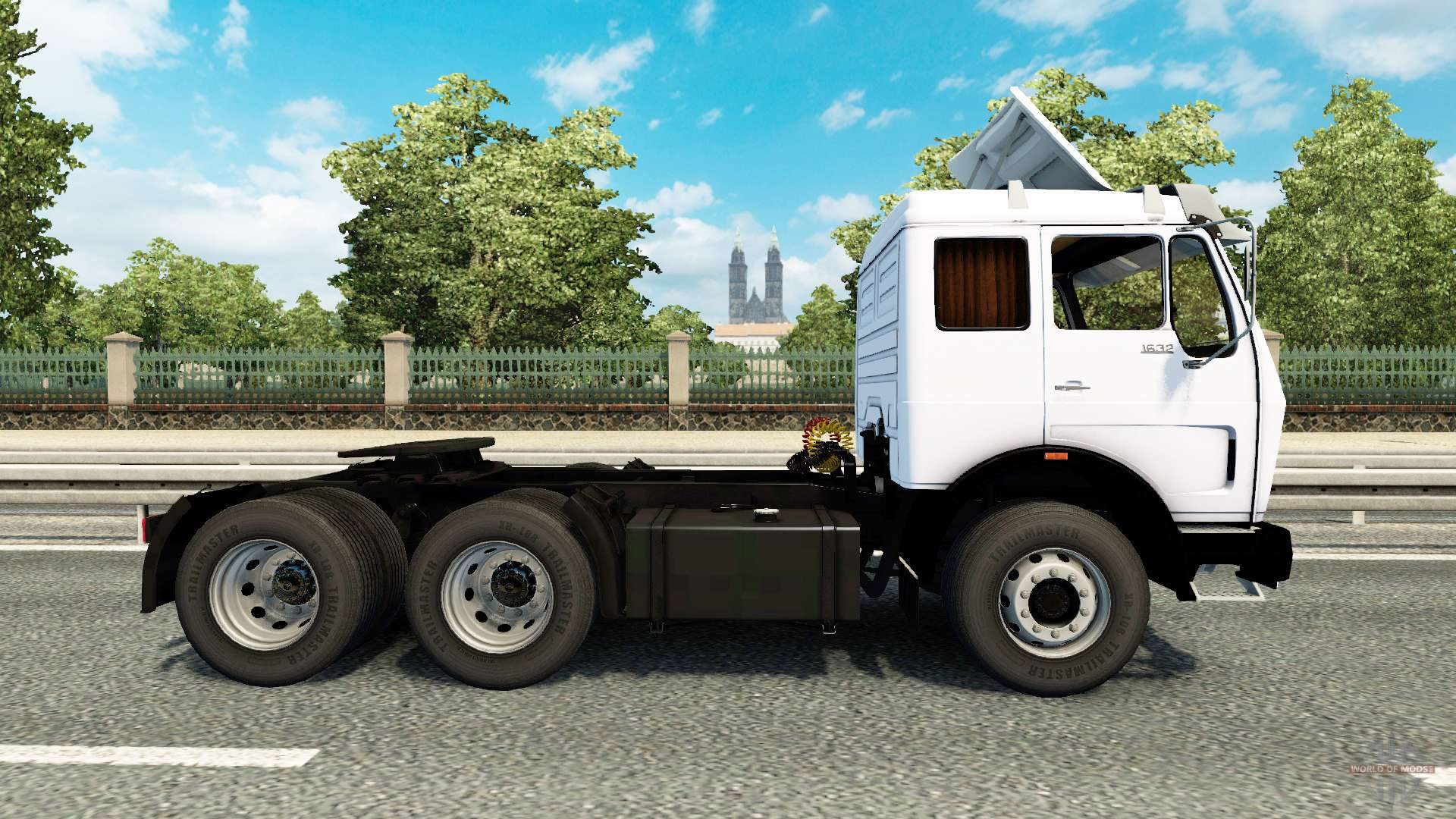 mercedes benz 1632 for euro truck simulator 2. Black Bedroom Furniture Sets. Home Design Ideas