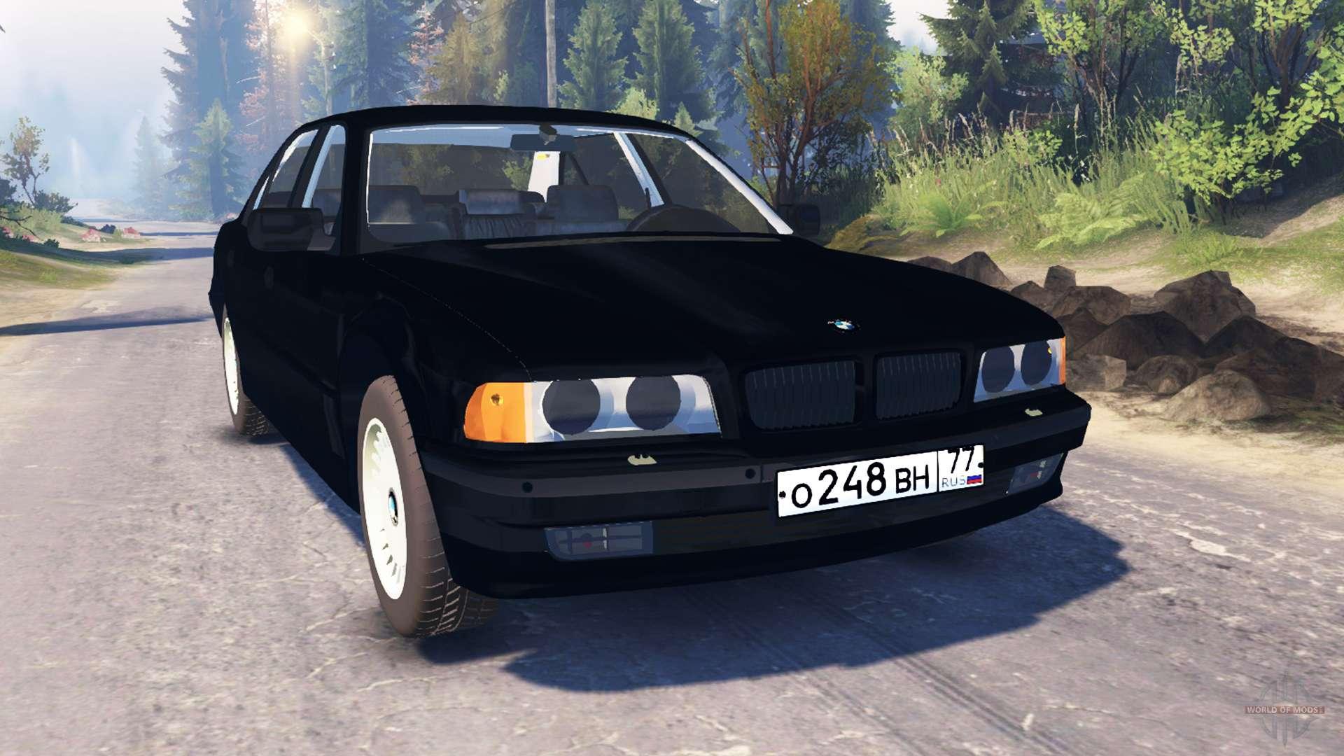 BMW 750Li E38 v20 for Spin Tires