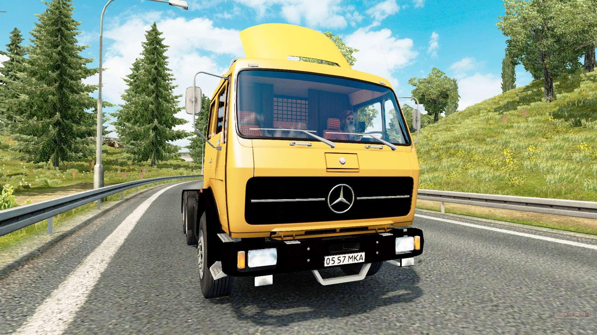 mercedes benz 1632 v2 0 for euro truck simulator 2. Black Bedroom Furniture Sets. Home Design Ideas