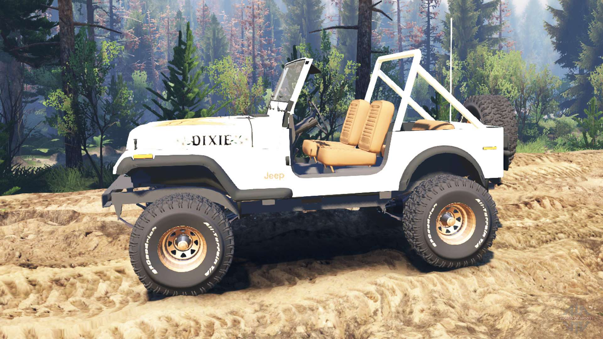 Spintires on 2016 Jeep Renegade Engine