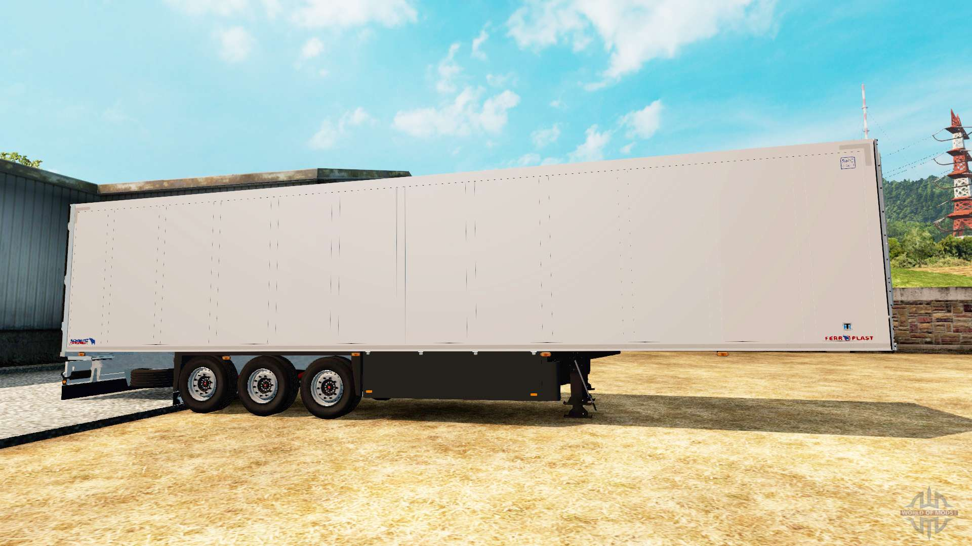 Semi Tractor Trailer : Refrigerated semi trailer schmitz cargobull for euro truck
