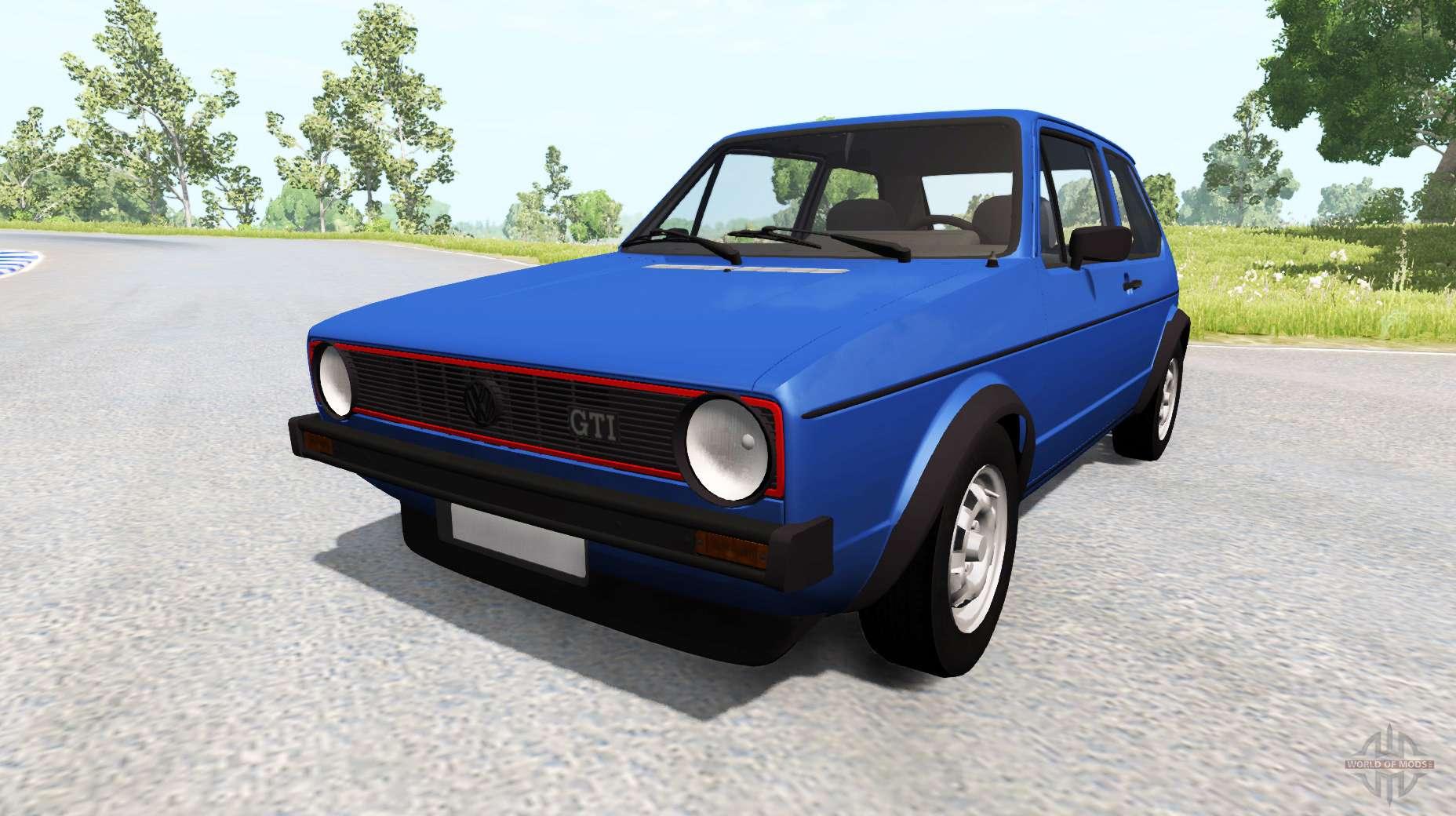 Dr Car: Volkswagen Golf Mk1 For BeamNG Drive