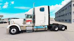 Skin XPO Logistics on the truck Freightliner Cla