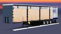 Curtain semi-trailer Schmitz Cargobull