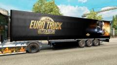 A collection of skins for trailers for Euro Truck Simulator 2
