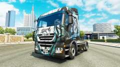 Skin Klanatrans on the truck Iveco