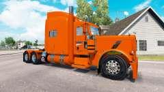 Skin YRC Freight for the truck Peterbilt 389