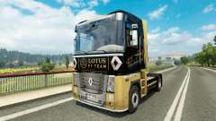 F1 Lotus skin for Renault truck