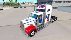 Skins NFL for truck Kenworth W900