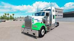 Skin All Star FJ Service on the truck Kenworth W