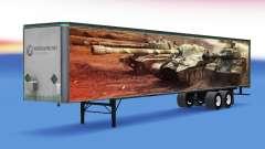 Skin World of Tanks on the trailer