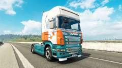Lommerts skin for Scania truck for Euro Truck Simulator 2