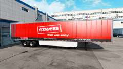 Skin Staples Inc. on the trailer