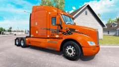 Skin Schneider National on truck Peterbilt