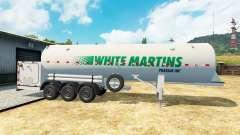 The semitrailer-tank White Martins