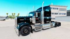 Skin Stevens Transport on truck Kenworth W900