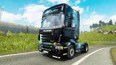 PC Ware skin for Scania truck for Euro Truck Simulator 2