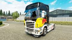 Red Bull skin for Scania truck