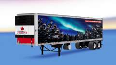 Skin of Molson Canadian on the trailer