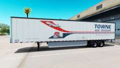 Skin Towne Air Freight on the trailer