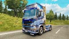 Winter skin for Scania truck