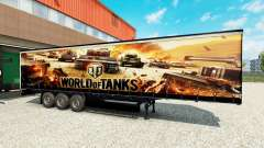 Skin World of Tanks on semi-trailers for Euro Truck Simulator 2