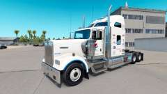 Pepsi skin for the Kenworth W900 tractor