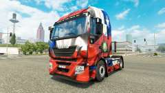 The Chile Copa 2014 skin for Iveco tractor unit