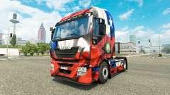 The Chile Copa 2014 skin for Iveco tractor unit for Euro Truck Simulator 2