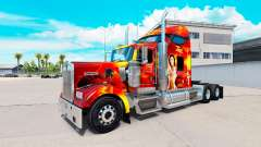 Zorro skin for the Kenworth W900 tractor