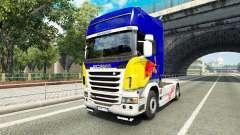 Skin Red Bull v2.0 truck Scania