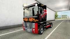 Trucker skin for truck Renault