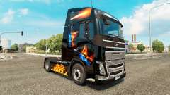 Fire skin for Volvo truck