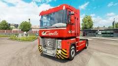 Capelle skin for Renault truck for Euro Truck Simulator 2