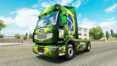 Skin Brasil 2014 for tractor Renault