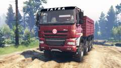Tatra Phoenix T 158 8x8 v5.0 for Spin Tires