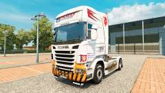 CSAD Turnov skin for Scania truck