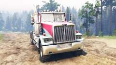 Western Star 4900 [red] for Spin Tires