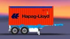 Container semi-trailer Schmitz