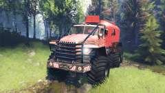 Ural-4320 Polar Explorer v6.0 for Spin Tires