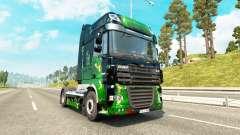 ArtWorks skin for DAF truck for Euro Truck Simulator 2