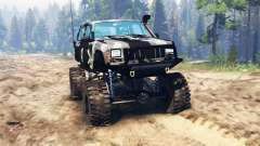 Jeep Cherokee XJ for Spin Tires