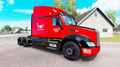 SouthEastern skin for the truck Peterbilt for American Truck Simulator