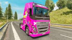 Dee Dee skin for Volvo truck for Euro Truck Simulator 2