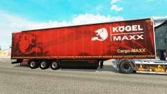 Curtain semi-trailer Kogel maxx
