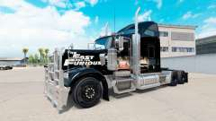 Skin Fast and Furious on the truck Kenworth W900