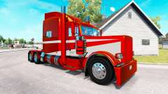 6 Metallic skin for the truck Peterbilt 389