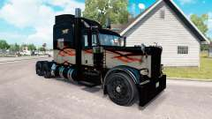 Skin Long Haul for the truck Peterbilt 389
